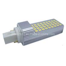 Nueva Rotating PLC G24 SMD LED bombilla 6W reemplazo