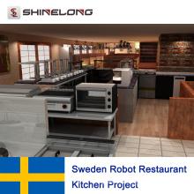 Schweden Robot Restaurant Küchenprojekt