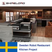 Sweden Robot Restaurant Kitchen Project