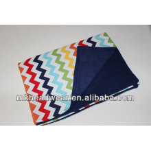 2014 hot sale double layer polar fleece printing blanket