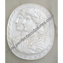 Stone Marble Sculpture Relievo for Wall Hanging Art Decoration (SY-R051)