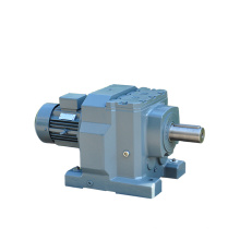 REDSUN R167 Series helical speed reducers gearbox with 18.5KW~160KW AC motor