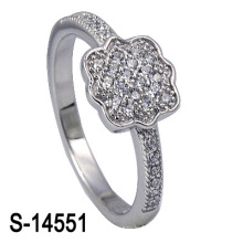 Bague de mariage en argent sterling 925 (S-14551. JPG)