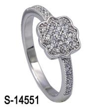 A jóia a mais atrasada 925 anel de casamento de prata (S-14551. JPG)