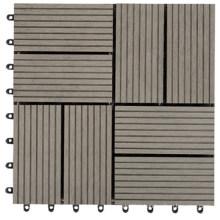 Fire Retardant WPC Wood Plastic Composite Deck Tile