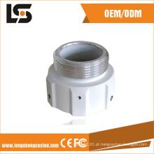 Conector de alumínio fundido sob pressão, anel adaptador para caixa de câmera CCTV