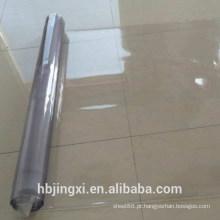 Rolo de folha transparente de PVC macio muito fino