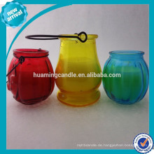 Organic Scented Pure Soja Wachskerze im Glas