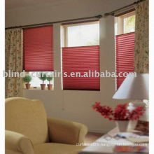 Blinds pleated for new design
