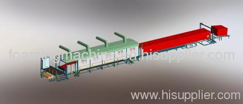 Continuous Sponge Making Machine