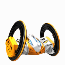 Volantex Remote Control Toy Two Wheels Double Side RC Stunt Car with LED Light