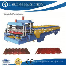 CE Approved Glazed Roof Tile Forming Machine