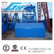 12CBM wireless remote control clamshell grapple bucket for cranes handing bulk material