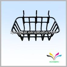 Exhibición de alambre estante colgante del supermercado de la cesta