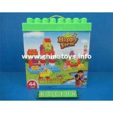 Novo plástico educacional bloco de construção de brinquedos (673106)