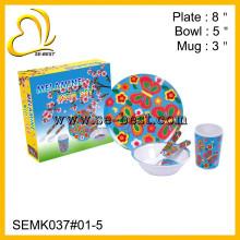 melamine children dinnerware