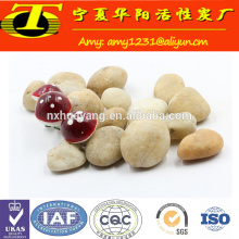 Filtro de tratamento de água de mídia 6-8 mm de pedra de seixos naturais à venda