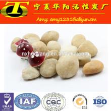 Traitement de l'eau de médias filtrants 6-8 mm pierre naturelle de galets à vendre