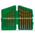Conjunto de brocas helicoidais 13PCS HSS com pacote de plástico