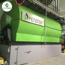 Machines à huile raffinées pour la pyrolyse de pneus de 1 à 100 tonnes / jour