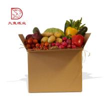 Massengroßhandelsgewohnheitsfirmenzeichen große faltende Papierkastenverpackung für Lebensmittel