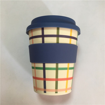 Eco Friendly Bamboo Fibre Traveling Coffee Mugs