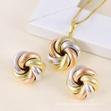 Conjunto de joyería multicolor de moda Xuping