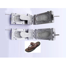 Molde de zapatos de plástico. Zapatillas molde