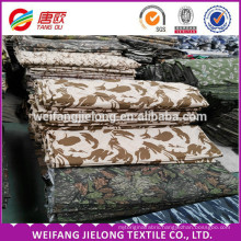 camouflage fabric men organic cotton fabric whplesale cheap jeans poly/cotton printed camouflage fabric for shirt