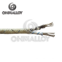Câble de thermocouple AWG 20 ANSI Standard K avec isolant de bande de verre Mica