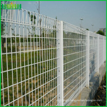 Cheap decorative green pvc coated BRC welded wire mesh fence for sale
