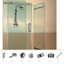 Glasschiebetür-Rollen-Einschließungs-Hardware der hohen Klasse gute Qualität