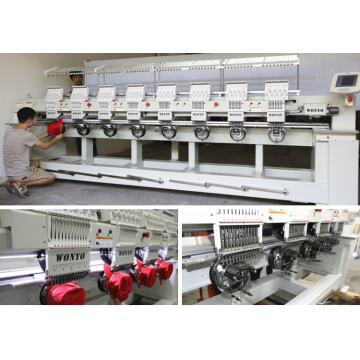 Computerized Operation and 8 Heads Not Tajima Embroidery Machine