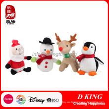 Felpa de peluche de Navidad juguetes suaves animales