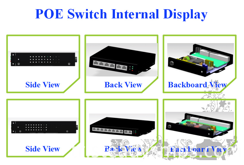 outdoor poe switch 8 port