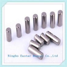 N42 Nickel Plating Customized Neodymium Cylinder Magnet