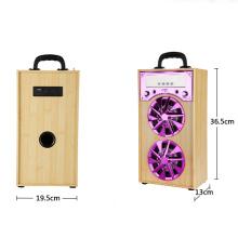 Fabrik Bluetooth Lautsprecher mit FM Radio, Bluetooth Power Garten Lautsprecher, LED-Licht Bar Tisch Lautsprecher