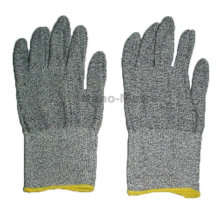 NMSAFETY grey tactical gloves anti cut industrial work glove