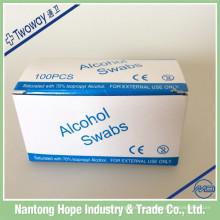 Einweg-sterile Alkoholtupfer