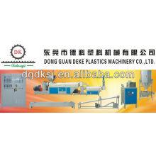 Máquina de recicl plástica WKSJ-160 / 140A do desperdício do DEKE do picosegundo do ABS do PE do PC dos PP