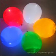 Изготовленный на заказ воздушный шар логотип с светодиодные фонари