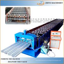 Pared y techo de acero de fabricación de perfil de techo de baldosa de laminado en frío de la máquina