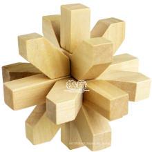 Rompecabezas de madera rompecabezas juegos Rompecabezas de metal 3D