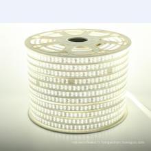L'intense luminosité 2835 SMD a mené la bande imperméable à l'eau 110V / 220V