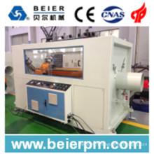 Ligne de machine de production d'extrusion / extrudeuse à grande vitesse en plastique de PE / pp / HDPE de tube / tube