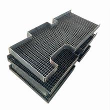 Machinery Platform Walkway Grate / Hot Dip Galvanized Steel Floor Grating