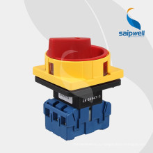 Saip Saipwell Hot Sale 32a 16-позиционный поворотный переключатель / электрический поворотный переключатель серии LW30