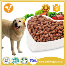 Sabrosa comida para mascotas de alta proteína perro comida seca