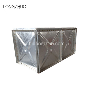 Hot-dicelup Galvanized Steel Water Tank