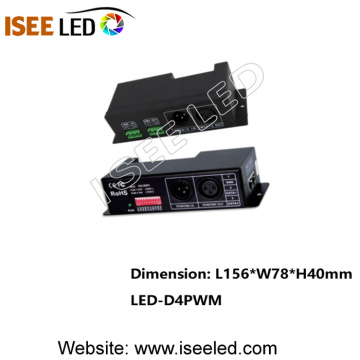 RGB Strip için 4CH PWM DMX LED Dekoder